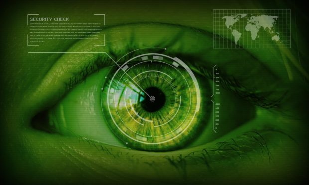 Biometric Security Retinal Scanning