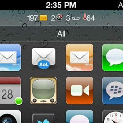 Blackberry iPhone Theme