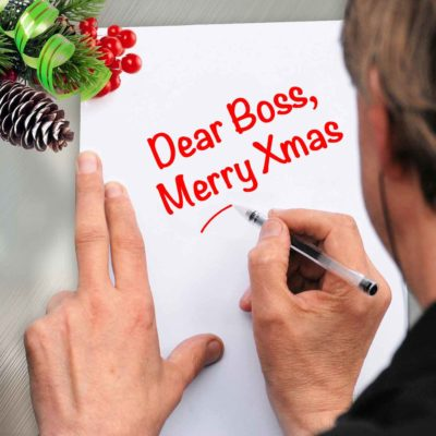What To Write In Your Boss's Christmas Card