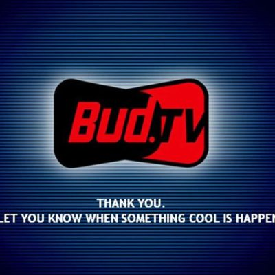 Bud.tv Goes Flat