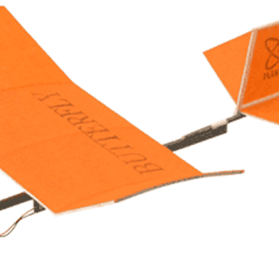 Butterfly Living Room Flyer: The World's Smallest Drone Model Airplane