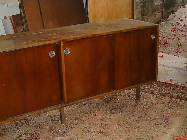Restoring A Cabinet - Furniture Restoration Project