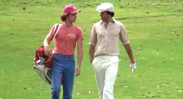 "Famous Caddyshack Quotes - ""You take drugs, Danny?"""