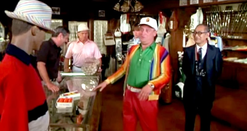 Caddyshack Hat Quote - Caddyshack Quotes - This is the worst-looking hat I ever saw.