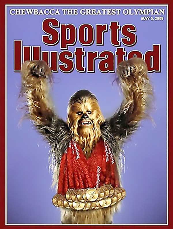 Chewbacca Wins All Of The Olympics Medals