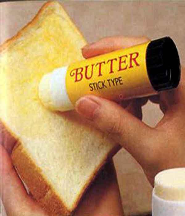 Chindogu Inventions: Butter Stick
