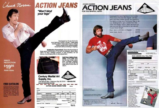 Where To Buy Chuck Norris Action Jeans