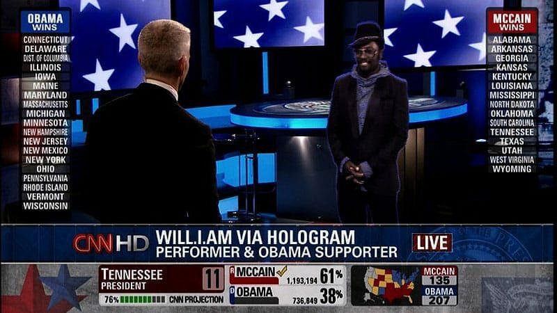 CNN's Hologram Reporters