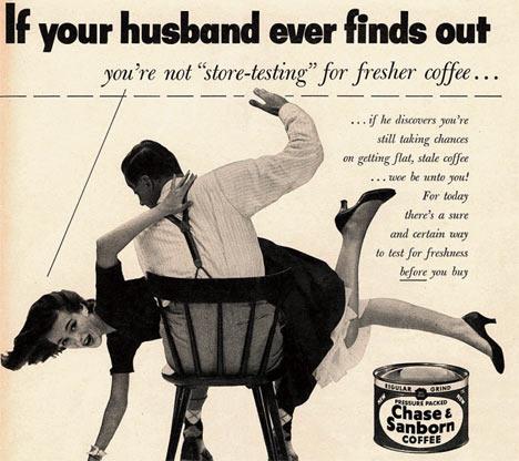 Wife Spanking - Chase & Sanborn Coffee