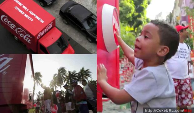 Coca Cola Happiness Truck Campaign