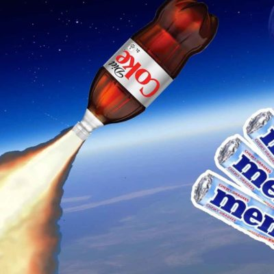 Coke And Mentos Rocket
