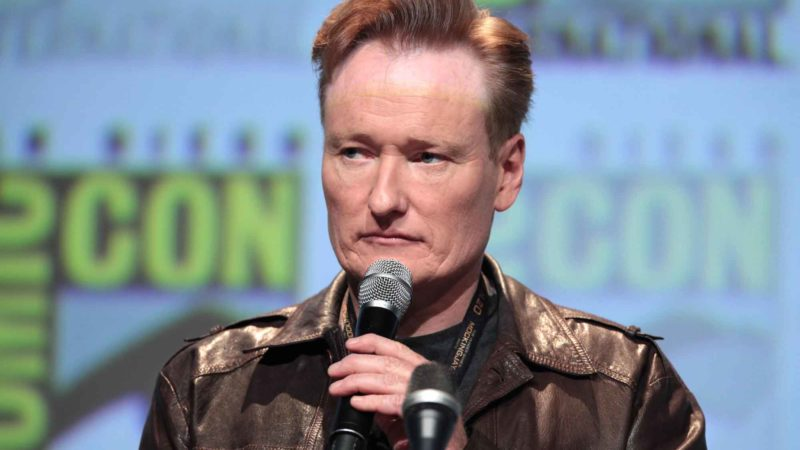 Conan O'Brien At Comic Con