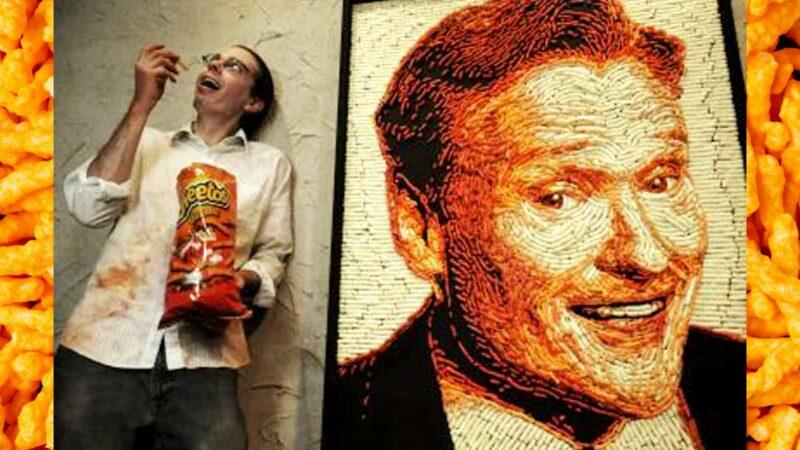 Conan O'Brien Cheetos