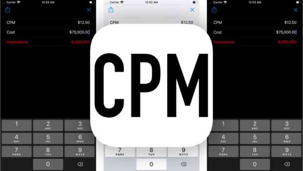 Cpm Calc - Calculating Cpm For Online Advertising - Cpm Calculator App