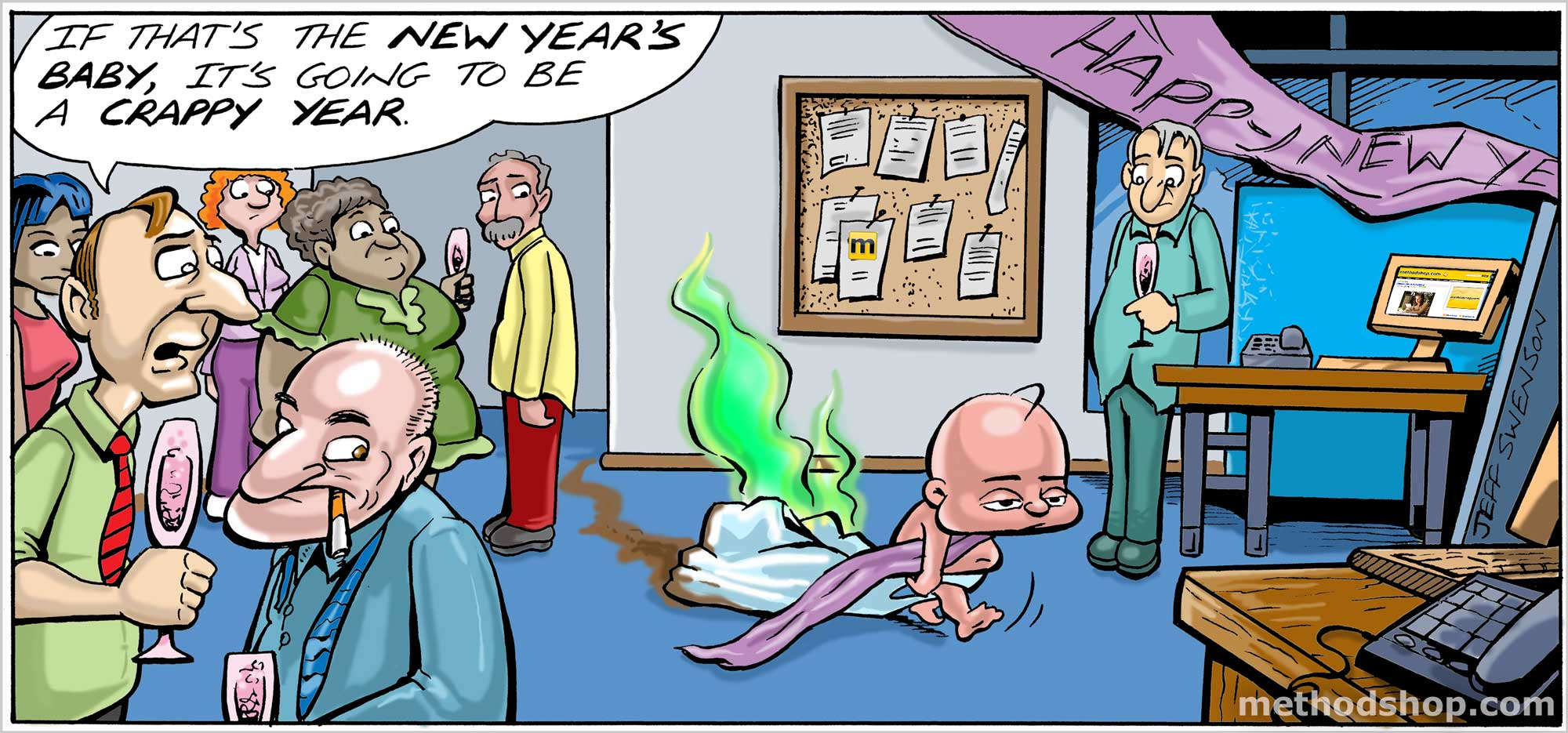 Crappy New Year's Baby