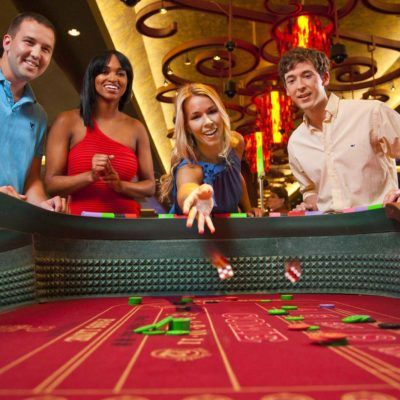 Craps Table Players