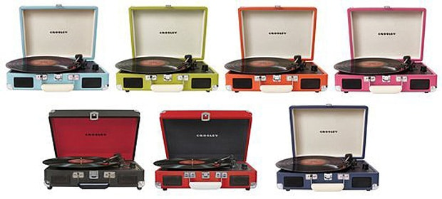 Crosley Cruiser Record Player Colors