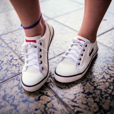 Walking - Going For A Walk Wearing Sneakers - Cute Feet