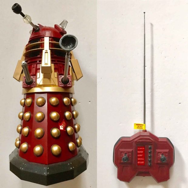 Remote Controlled Dalek Robot From Doctor Who