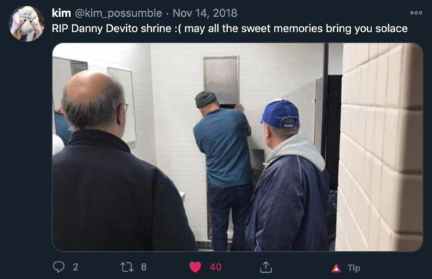 Rip Danny Devito Shrine