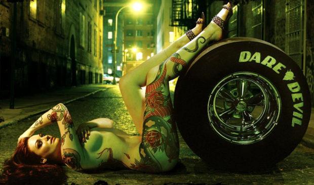Dare Devil Tattoo Model