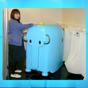 The Dasubee Urinal Cleaning Robot Is Helping Clean Japanese Men's Rooms