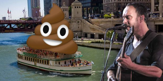 The Dave Matthews Poop Bus Incident - Dave Matthews Band Tour Bus Dumps Poop In Chicago River