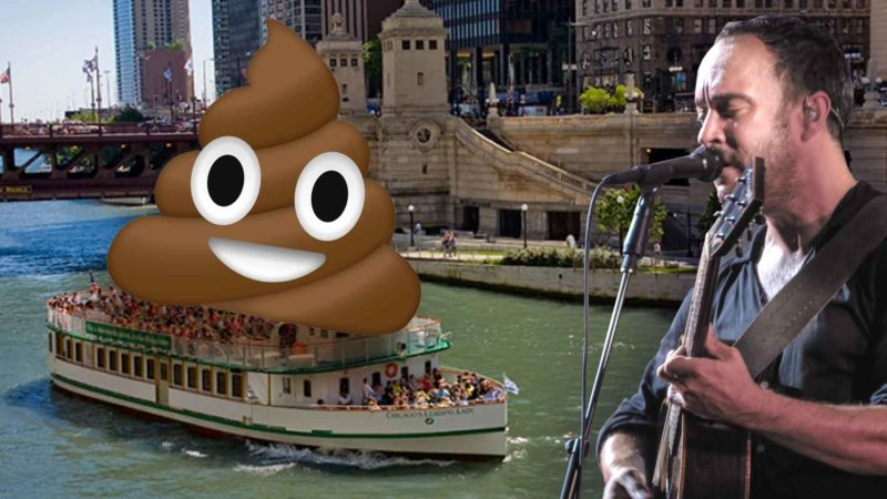 Dave Matthews Band Tour Bus Dumps Poop In Chicago River