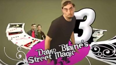 David Blaine Street Magic Parody
