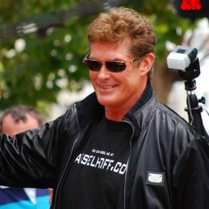 David Hasselhoff Honored At Bollywood Movie Awards (2005)