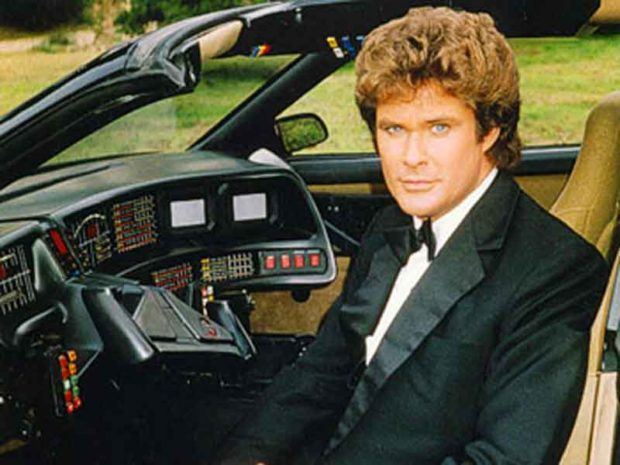 Embarrassing David Hasselhoff Photos: I Love My Car