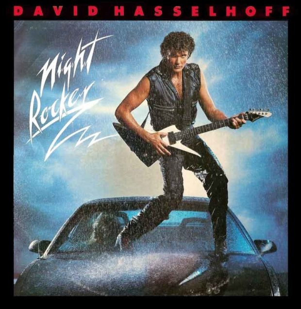 Embarrassing David Hasselhoff Photos: Night Rocker