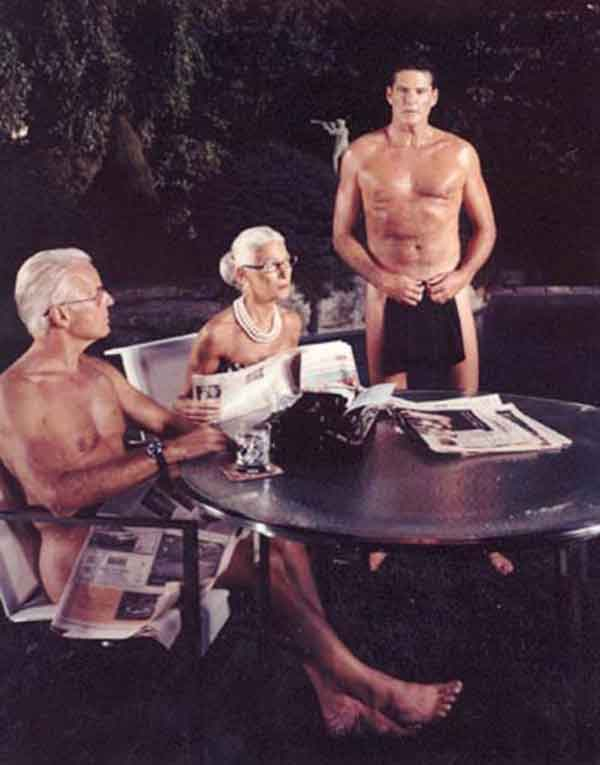 David Hasselhoff Naked With Seniors