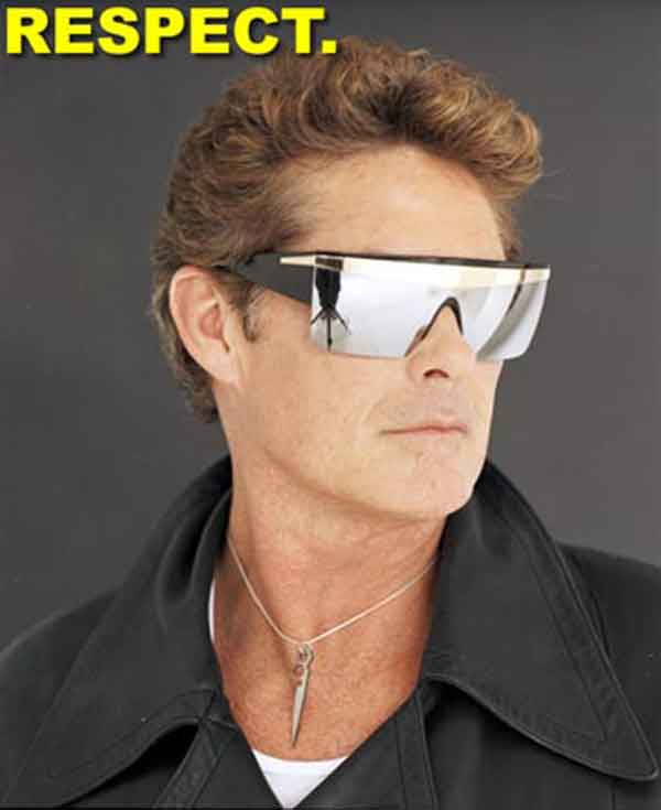 David Hasselhoff Sunglasses