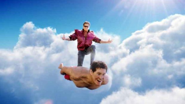 Embarrassing David Hasselhoff Photos: Surfing On Himself
