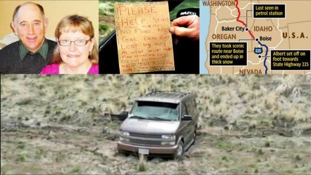 "Death By GPS: Bad GPS Directions Take Couple On The ""Scenic Route"""