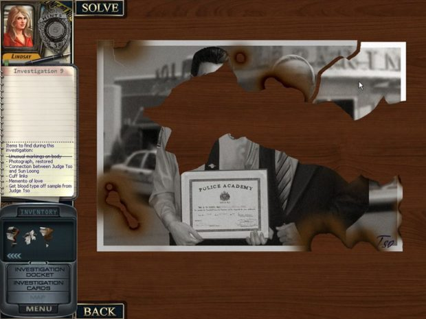 Death In Scarlet: Photo Puzzle From Investigation #9