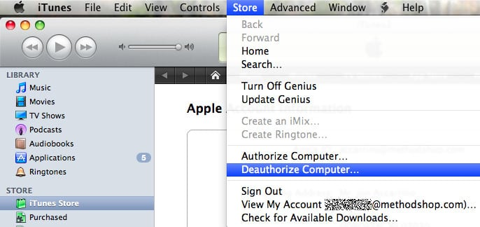 Deauthorize Itunes On Your Computer