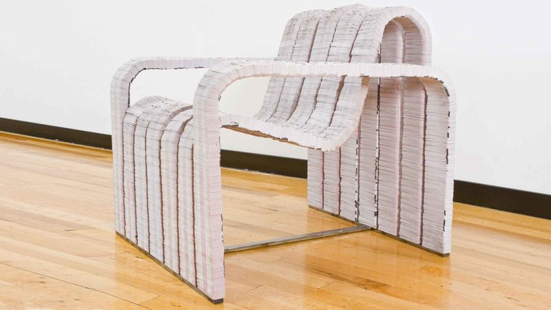 The Deuces Wild Chair Upcycles 350 Decks Used Playing Cards Into A Lounge Chair