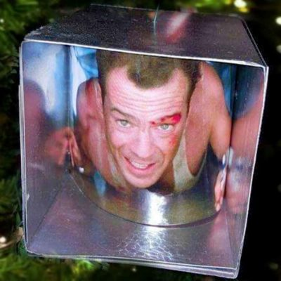 Geeky Christmas Decorations: Die Hard Ornament