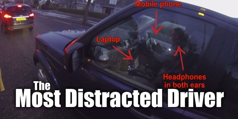 The World's Most Distracted Driver