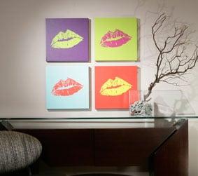 DNA Kiss Portrait