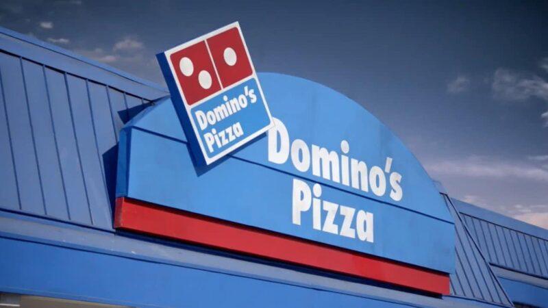 Domino's Pizza Sign