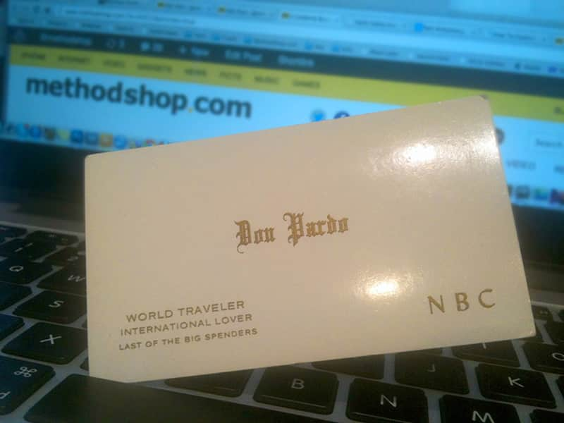6 Awesome Celebrity Business Cards That You Have To See