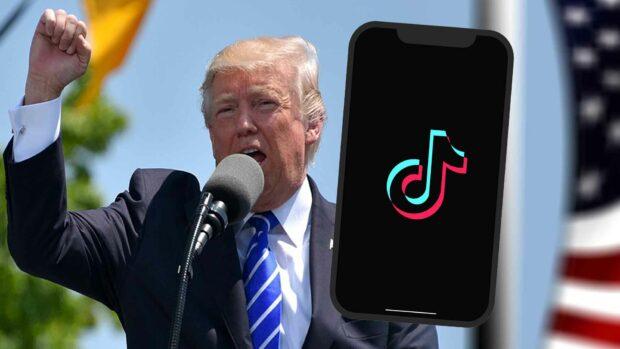 Donald Trump Vs The Tiktok App