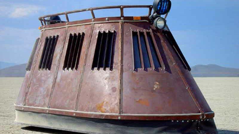 Side View Of The Donk - JL421 Badonkadonk Land Cruiser Tank