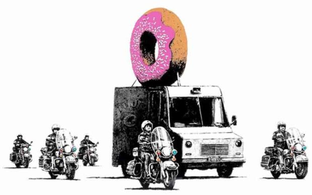 Banksy'S &Quot;Strawberry Donut&Quot; - Fun Donut Gifts