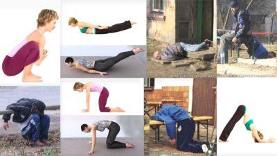 Funny Drunk Yoga Poses