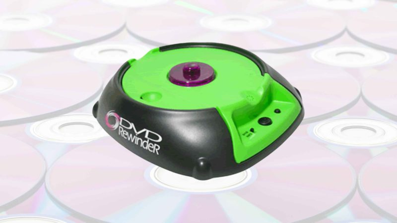 The DVD Rewinder: Be Kind And Rewind Your... DVDs?!