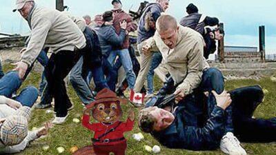 Canadian Easter Egg Hunt Turns Violent